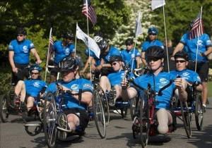obama engelli askerlerin yarışını izledi